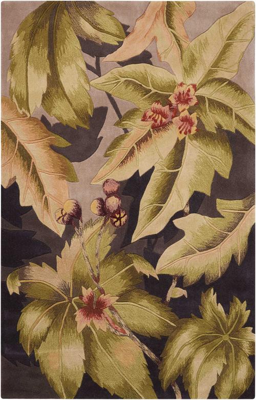 nourison tropics ts03 plum