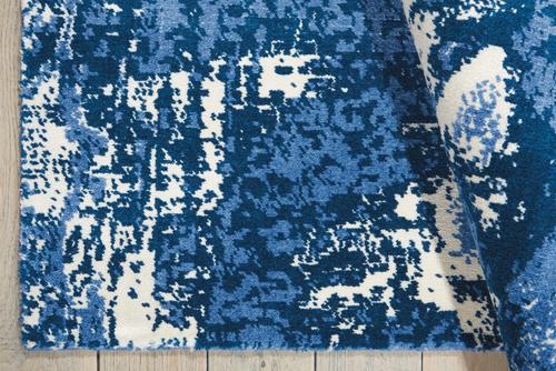 Nourison TWILIGHT TWI24 BLUE/IVORY Detail