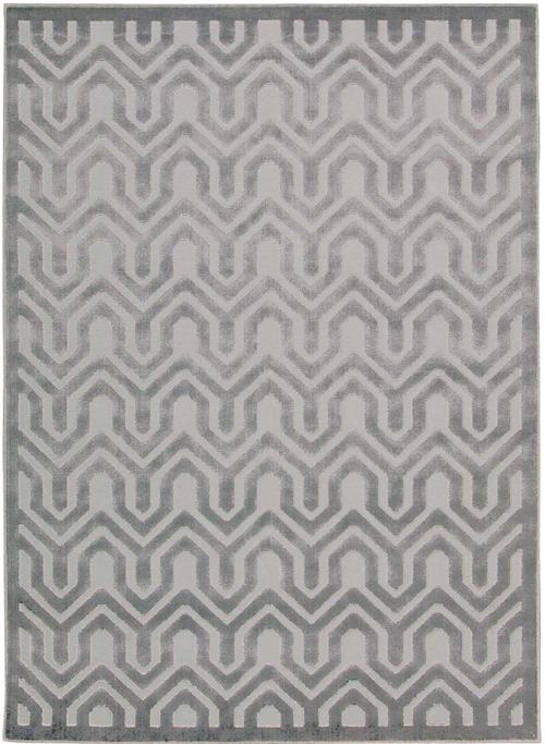 nourison ultima ul316 silver grey