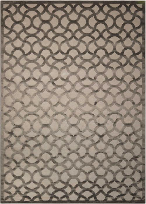 nourison ultima ul392 silver grey