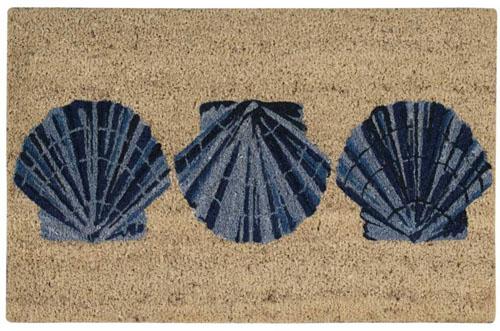 waverly mats wav17 greetings wgt08 blue mat