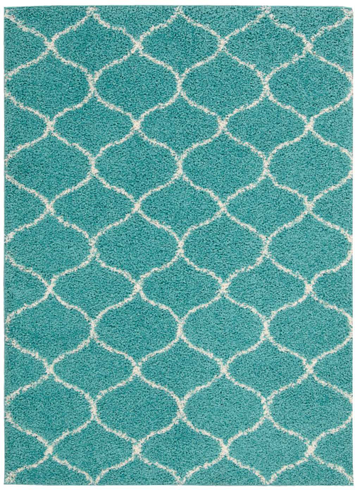 nourison windsor win01 teal