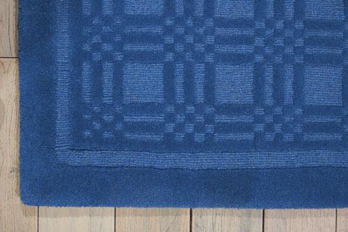 Nourison WESTPORT WP32 BLUE Detail