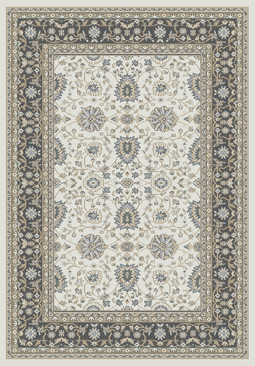 dynamic yazd 2803 ivory/grey