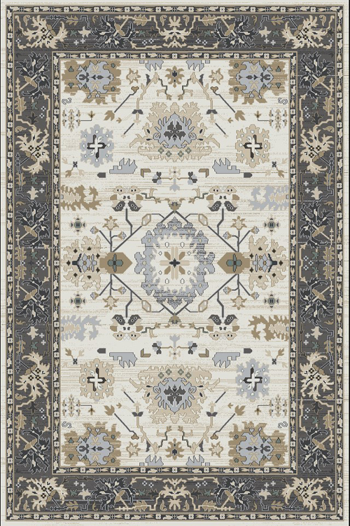 dynamic yazd 8531 ivory/grey