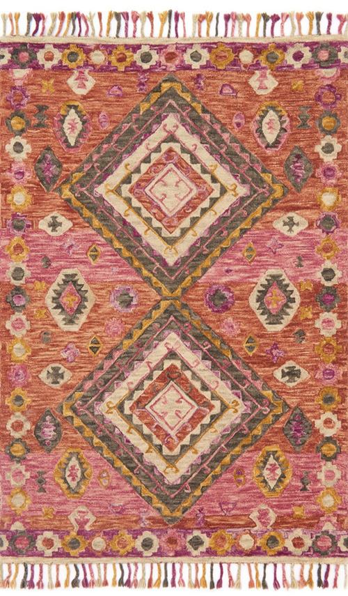 Loloi Rose Denim Rug Zharah Zr 03 Zharzr 03rode7999