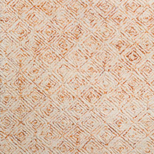 Dalyn Zoe ZZ1 Orange Detail