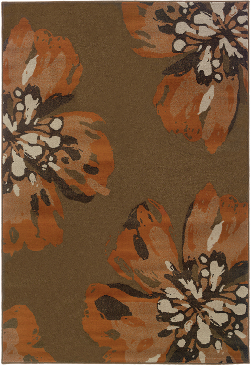 oriental weavers adrienne 4130c brown