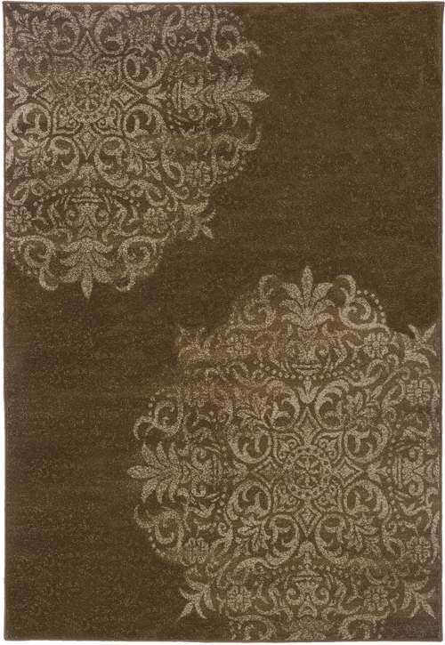 oriental weavers adrienne 4174d brown
