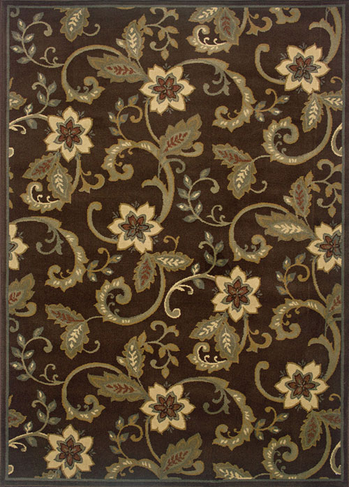 oriental weavers amelia 2260b brown