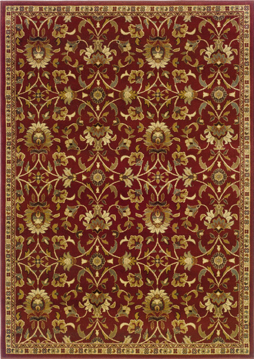 oriental weavers amelia 2331r red