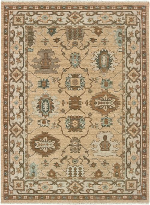 Oriental Weavers Tan Rug Anatolia 530u3 A530u3300390st