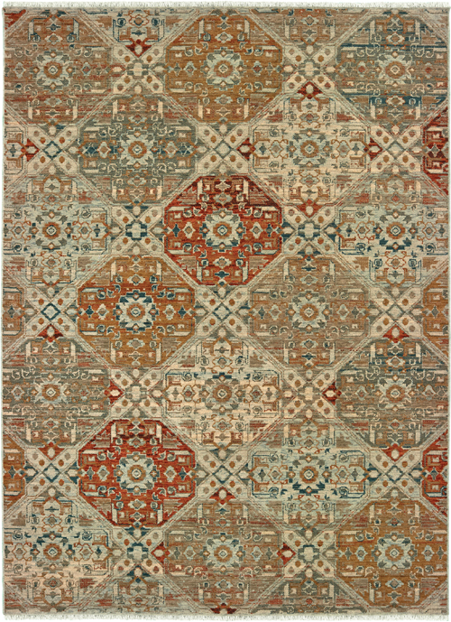 Oriental Weavers Blue Rug Anatolia 8020h A8020h240330st