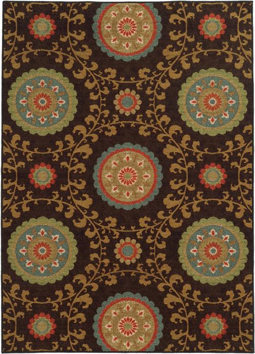 oriental weavers arabella 15757 brown
