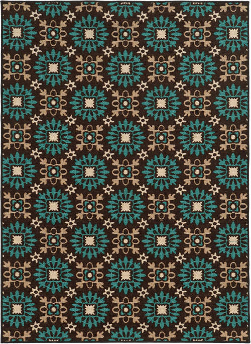 oriental weavers arabella 15862 brown