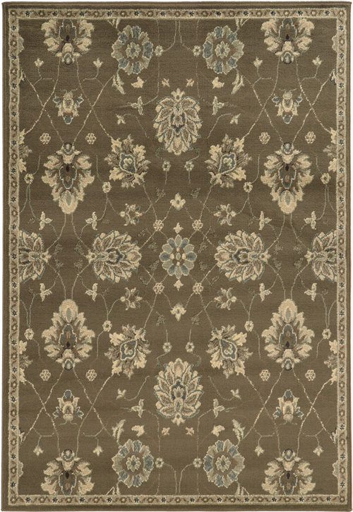 oriental weavers brentwood 1330e brown