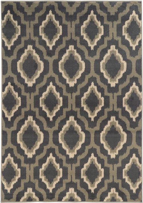 oriental weavers brentwood 5501d charcoal