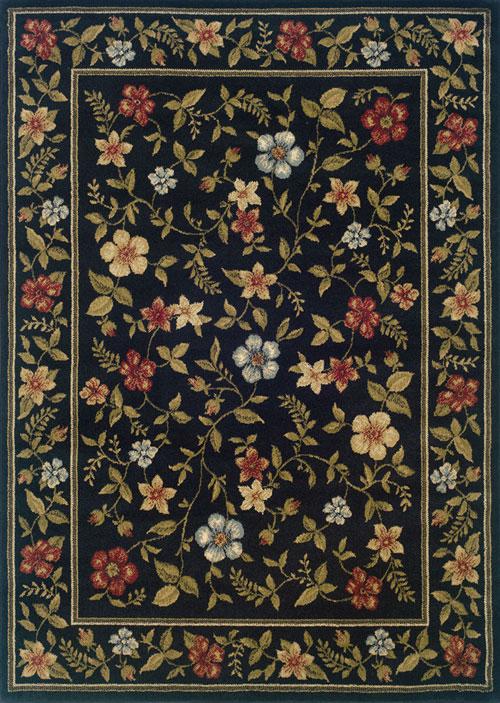 Oriental Weavers CAMDEN 1196D Black