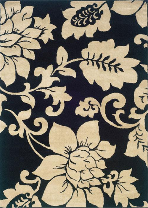 oriental weavers camden 2235b black