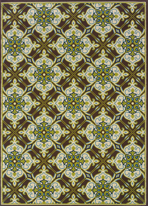 oriental weavers caspian 1005d brown