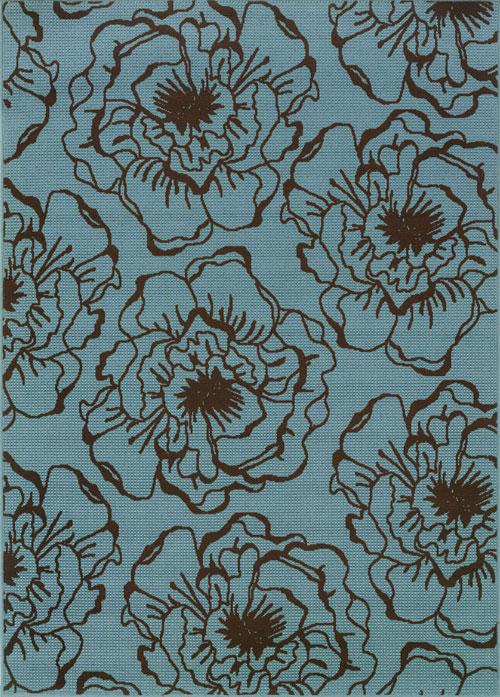 oriental weavers caspian 3065l blue