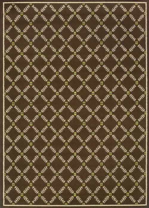 oriental weavers caspian 6997n brown