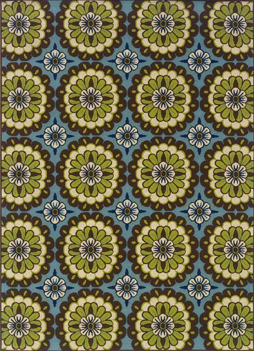 oriental weavers caspian 8328l blue
