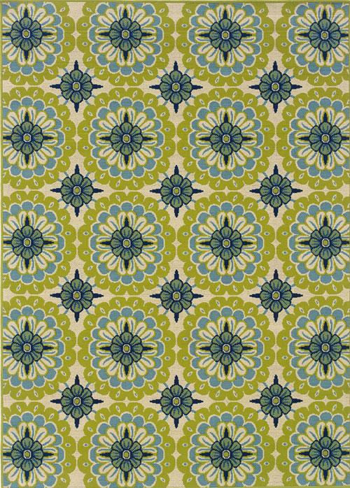 oriental weavers caspian 8328w green