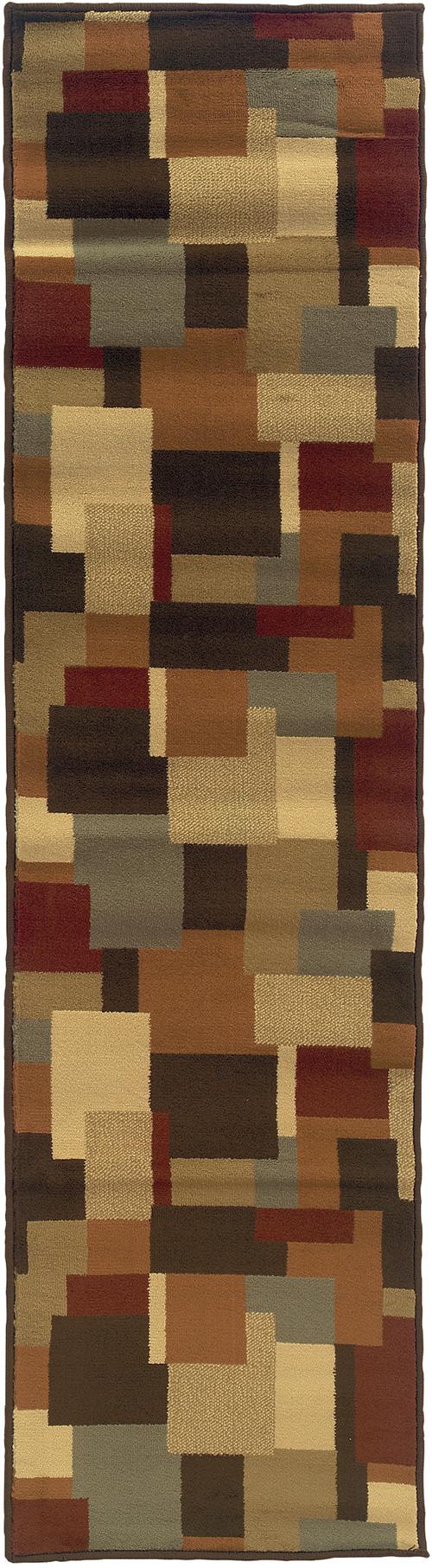 oriental weavers darcy 2065d brown