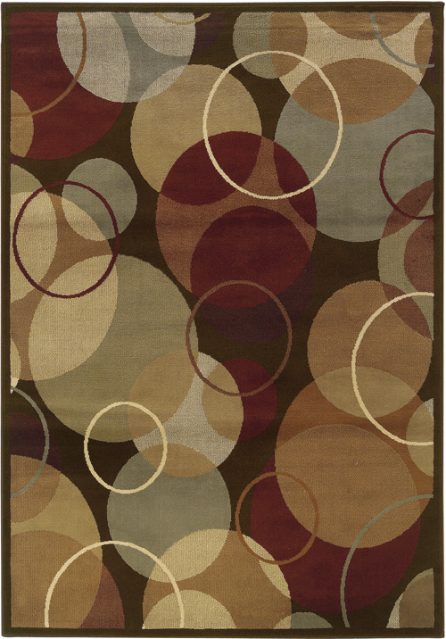 oriental weavers darcy 2066d brown