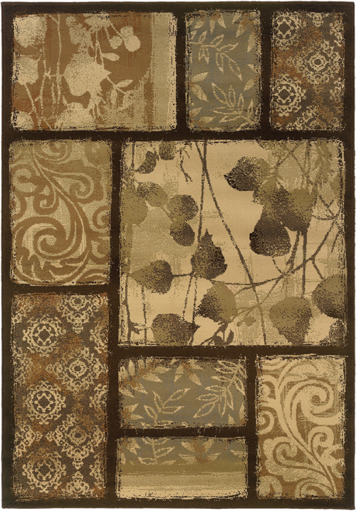 oriental weavers darcy 8025d brown