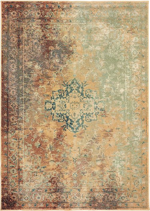 oriental weavers dawson 8324a rust