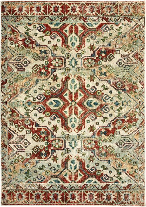 oriental weavers dawson 8533a rust