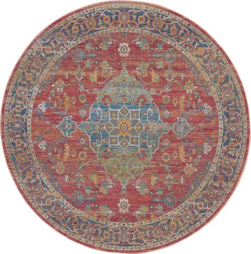 nourison global vintage glb01 multicolor