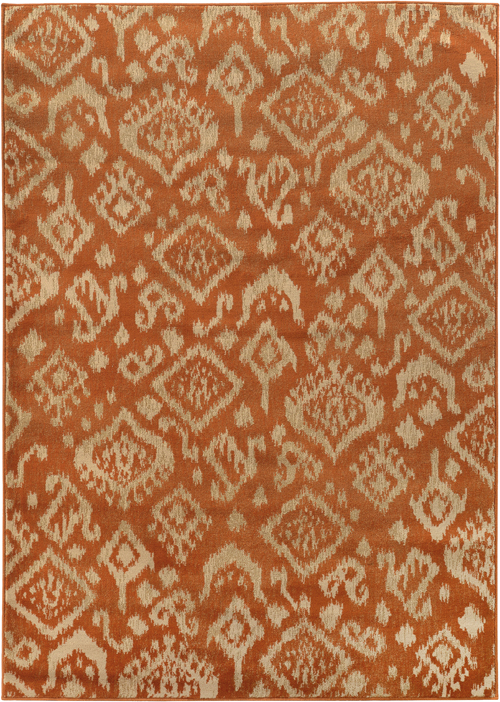 oriental weavers ella 5113c orange