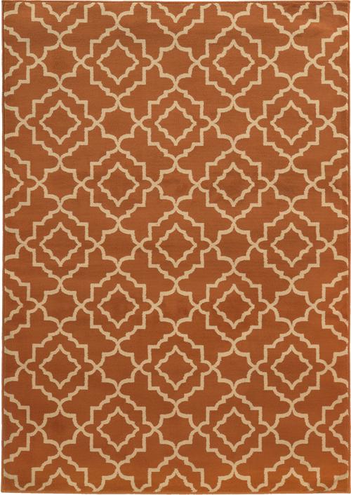 oriental weavers ella 5185f orange