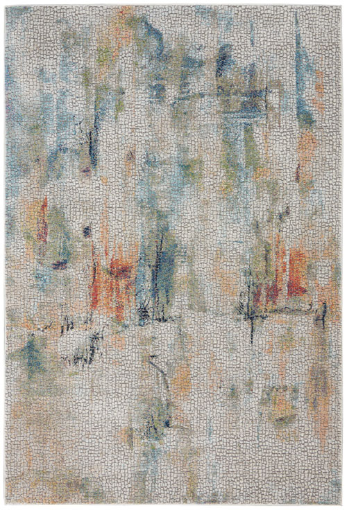 Nourison Global Vintage GLB09 Ivory/Multicolor Rug