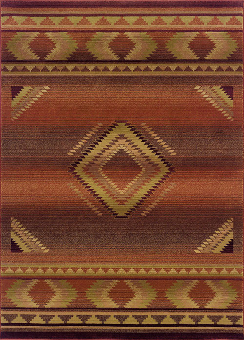 oriental weavers generations 1506c red