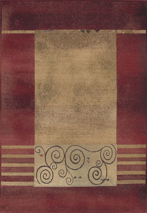 oriental weavers generations 213r1 red