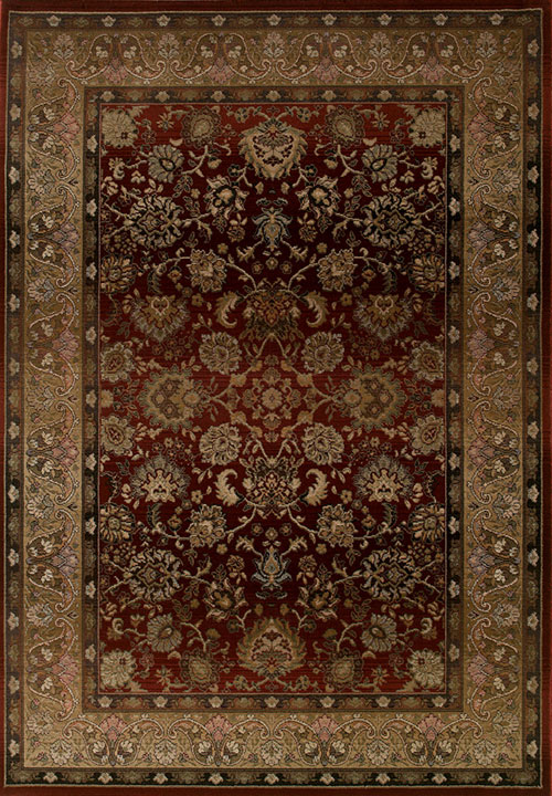 oriental weavers generations 3434r red