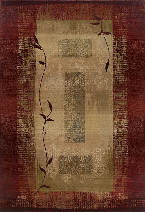 oriental weavers generations 544x1 red