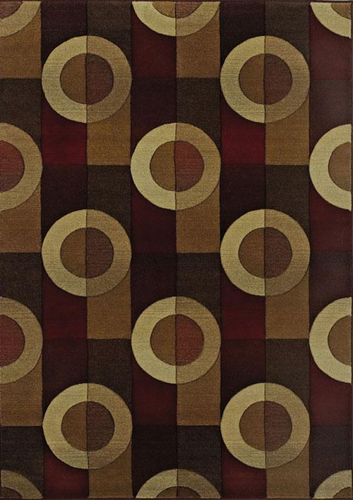 oriental weavers genesis 97r brown