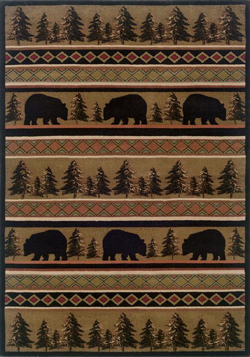 oriental weavers hudson 1066a black