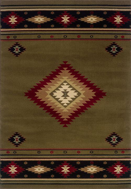 oriental weavers hudson 087j1 green