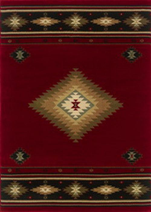 oriental weavers hudson 087k1 red