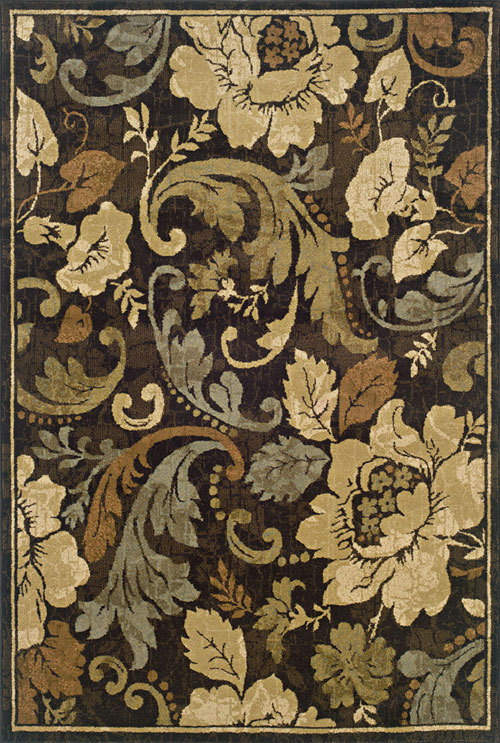 oriental weavers huntington 1279e brown