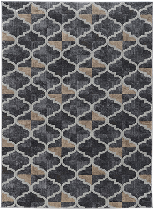 Radici Usa Brown Rug Iseo 3796 1014 Brown 3796 1014