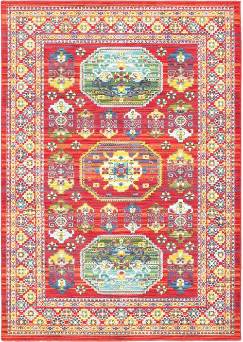 oriental weavers joli 003r4 red
