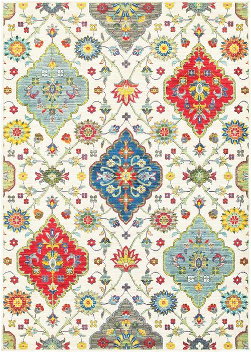 oriental weavers joli 4929w ivory