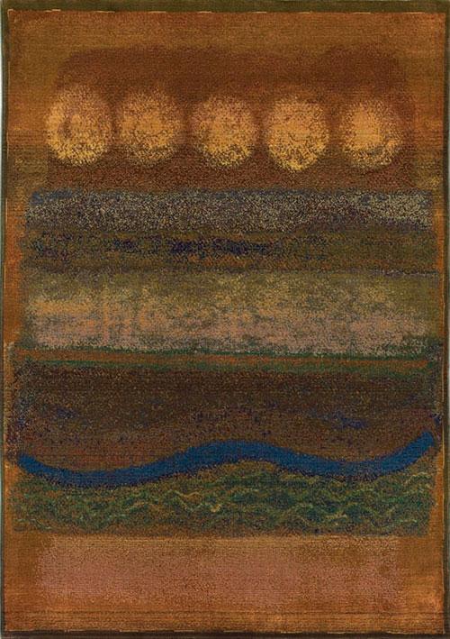 oriental weavers kharma ii 167x4 gold